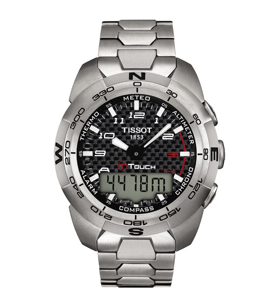 Часы Tissot T-Tactile T-Touch Expert Solar T0134204420200 Tissot T-Tactile T-Touch Expert Solar T0134204420200