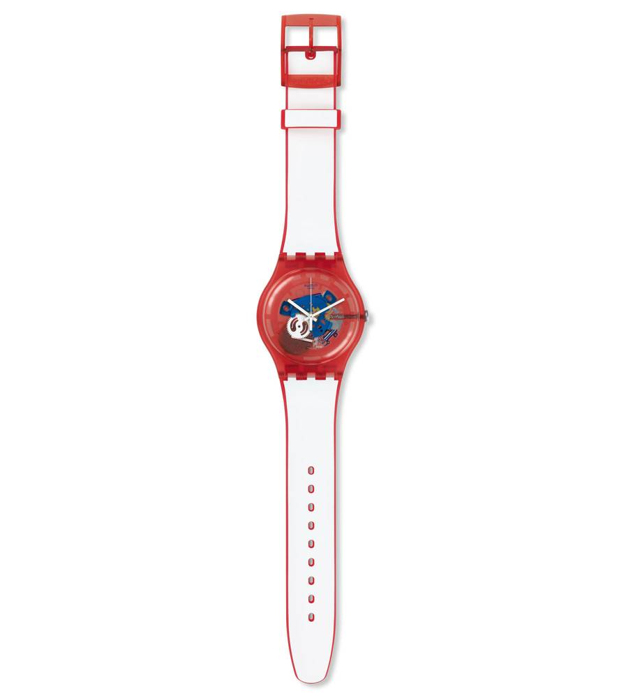 Часы  SW Swatch CLOWNFISH RED SUOR102 Swatch CLOWNFISH RED SUOR102