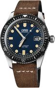 Часы Oris Divers Sixty-Five 733 7720 4055 кож