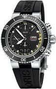 Часы Oris Aquis Depth Gauge Chronograph 774 7708 4154 set